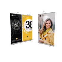 Brandstand banner stand