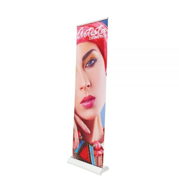 high retractable standing banner