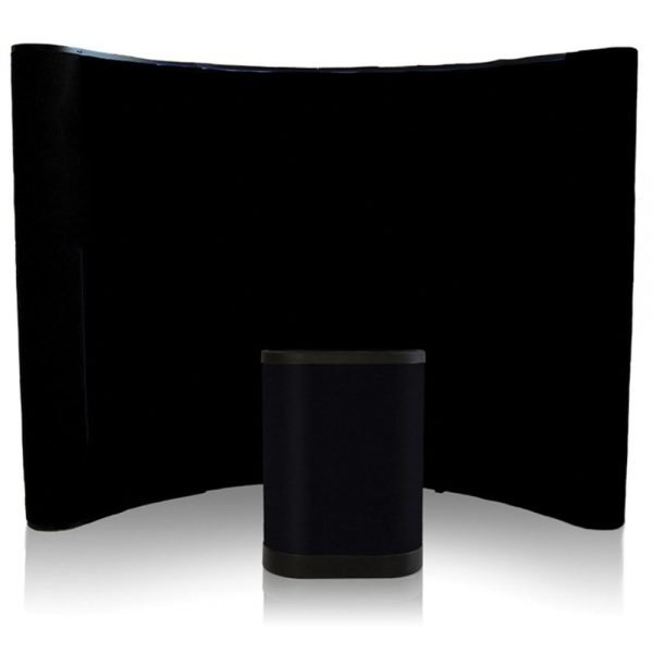 Fabric pop up displays