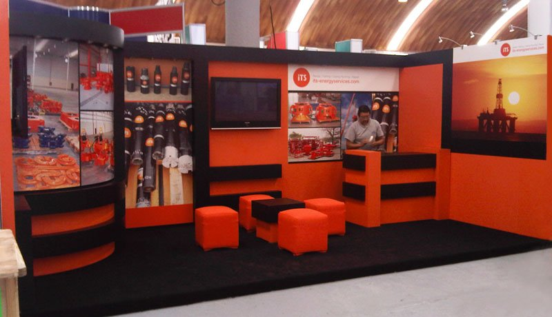 Custom trade show displays  tiger exhibits