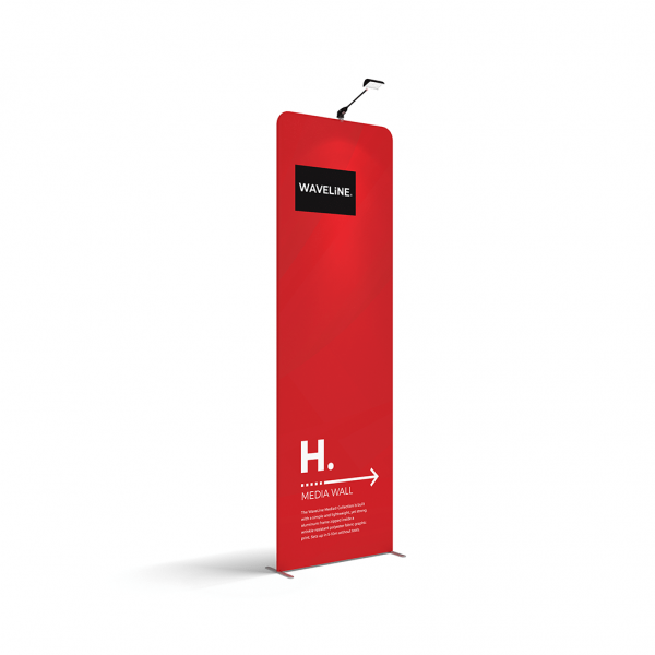 Large banner stand