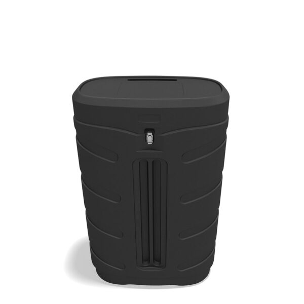 Black Travel Case with Wheels