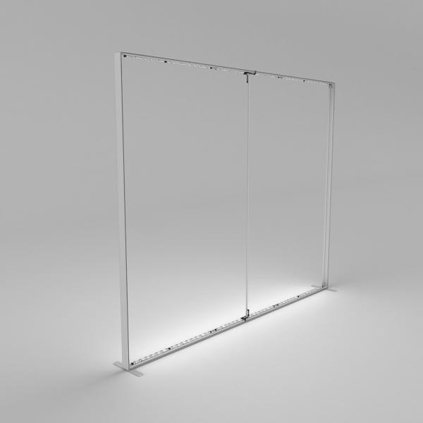 Lightbox display frame