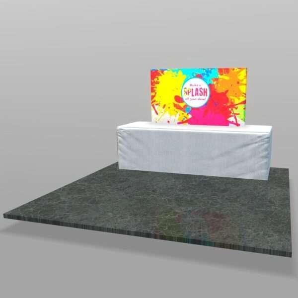 Backlit table top